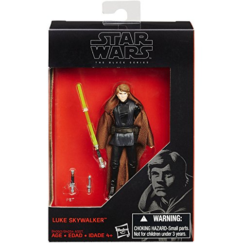 Hasbro B4060 Star Wars Black Series Luke Skywalker 10cm 3.75-inch Action Figur