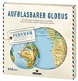 Moses. Fernweh Aufblasbarer Globus | Weltkarte
