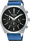 Pulsar Men's Watch Analogue Quartz Nylon PT3703X1