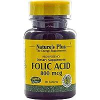 Folic Acid / Folsäure 800 mcg 90 Tabletten NP (vegan) preisvergleich bei billige-tabletten.eu
