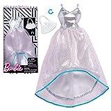Kleid silber mit Tüll | Barbie | Mattel FKT11 | Trend Mode Puppen-Kleidung