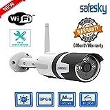 Safesky Wi-Fi Wireless HD Outdoor Weatherproof 720p IP Security Camera CCTV