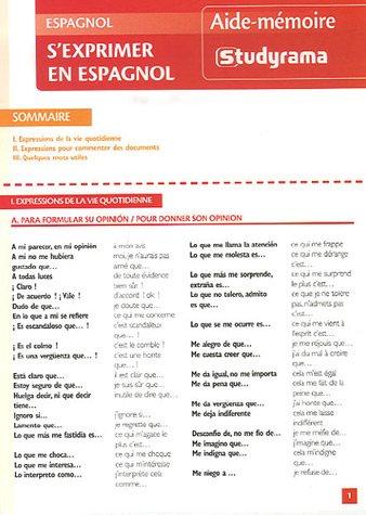 S'exprimer en espagnol par Maribel Molio