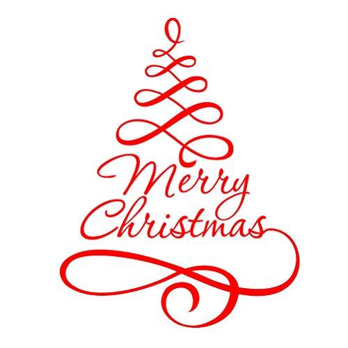 Très ᐅ Albero Natale adesivo vetrina al prezzo migliore ᐅ Casa  EL27