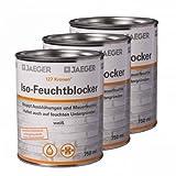 3 x Jaeger Kronen Iso-Feuchtblocker 127 0,75l