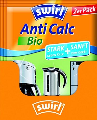 Swirl Anti Calc Bio Pulver im Doppelbeutel, 17er Pack, Je 2 x 20g -
