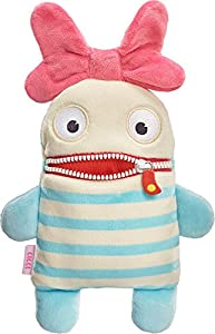 Schmidt Spiele Lilli Monstruo Felpa Beige, Azul, Rosa - Juguetes de Peluche (Monstruo, Beige, Azul, Rosa, Felpa, Chica, 50 g, 1 Pieza(s))