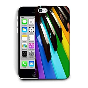 Snoogg Colorful Piano Keyboard Music Printed Protective Phone Back Case Cover For Apple Iphone 6+ / 6 Plus