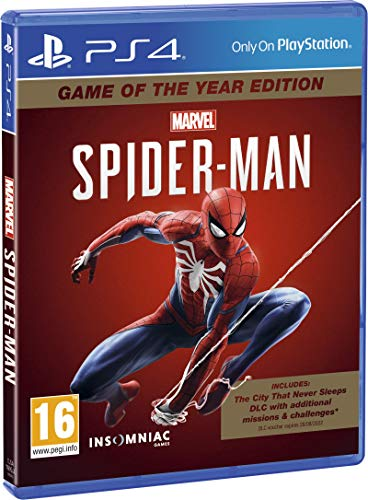 Marvel's Spider-Man Game Of The Year Edition - PlayStation 4 [Edizione: Regno Unito]
