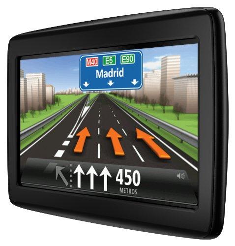 """Tomtom Start 25 Navegacion con pantalla táctil de 5"""" y mapa de 45 países color negro (Reacondicionado Certificado por TomTom)"""