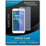 """2 x SWIDO protecteur d'écran Asus Zenfone Live (ZB501KL) film protecteur feuille """"CrystalClear"""" invisible"""