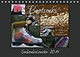 Sockenkalender Bootsocks 2019 (Tischkalender 2019 DIN A5 quer): Strickkalender mit 12 Anleitungen für Bootsocks (Monatskalender, 14 Seiten ) (CALVENDO Hobbys)