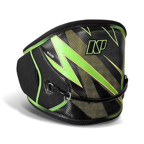 NP SURF Flash Standard Release Kite Taille Geschirr, schwarz / grün