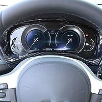 Plástico ABS de fibra de carbono estilo para salpicadero interior X3 G01 2018 2019 año marco de decoración de velocidad