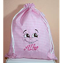 bolsas de merienda - Rosa - Amazon.es