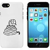 Blanc 'Serpent' étui / housse pour iPhone 7 (MC00063612)