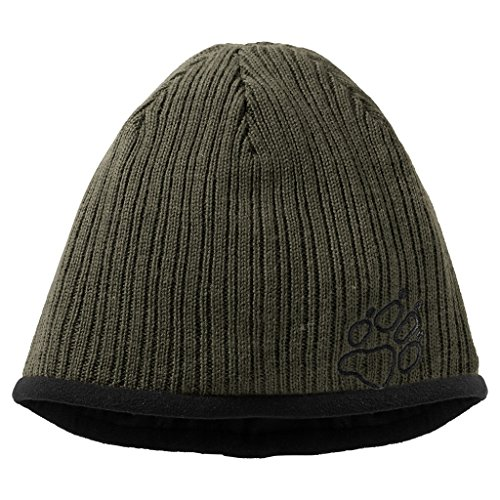 jack-wolfskin-berretto-verde-oliva-bruciato-m