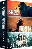 Kong : Skull Island + Godzilla + Tarzan - Coffret DVD