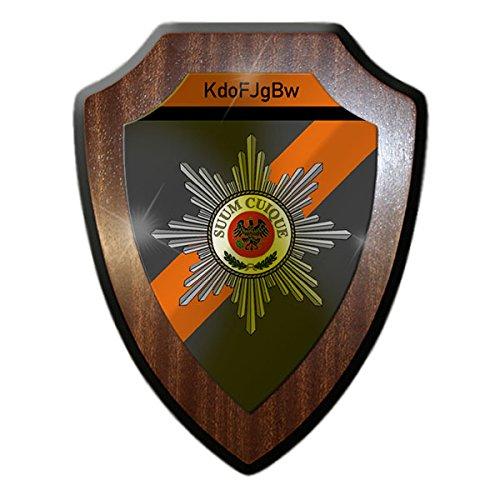 Wappenschild / Wandschild - Kommando Feldjäger der Bundeswehr KdoFJgBw Bundeswehr Feldjäger MP Military Police Militär Polizei Wappen Abzeichen #14929