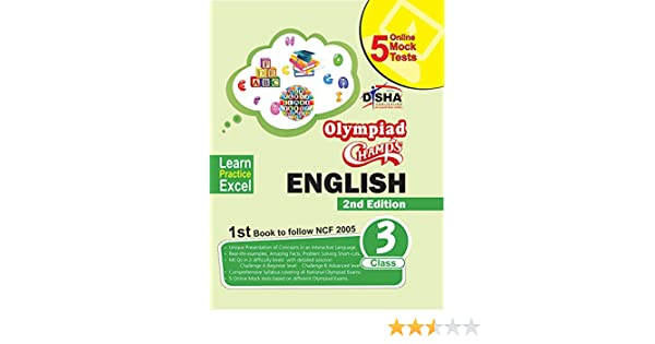 Olympiad Champs English Class 3 with 5 Online Mock Tests 2nd Edition