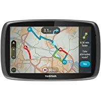 "TomTom GO 600 UK & Ireland - 6"" Sat Nav with Full UK & Ireland Lifetime Maps, Lifetime Traffic Updates, Smartphone Connected and Interactive Screen"