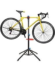 MVpower Pied d'Atelier pour Vélo Support Stand Maintenance Réparation Workstand Mécanicien pour Vélo VTT - Pivotant jusqu'à 360°