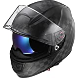 LS2Casque moto FF397Vector CT2Carbon, Matt Carbon, L