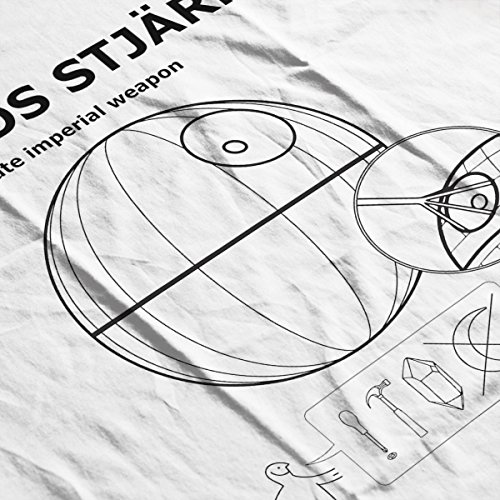 Star Wars Death Star Pans By Ikea Rogue One Women's Vest white