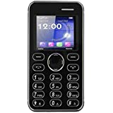 Kechaoda K66 Slim Card Size Light Weight And Stylish GSM Mobile Phone (Only Mobile Phone & Charging Cable In Box, NO CHARGER OR EARPHONE) (Black)