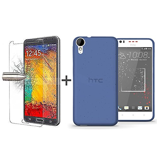 tbocr-pack-blue-tpu-silicone-gel-case-tempered-glass-screen-protector-for-htc-desire-825-soft-jelly-