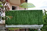 Mendler Sichtschutz Windschutz Verkleidung für Balkon Terrasse Zaun ~ Tanne breit 300 x 100 cm