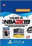 NBA 2K19 - 450,000 VC - 450000 DLC | PS4 Download Code - UK...