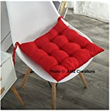 AMZ Premium Microfibre Chair Pad Cushion Seat Pads Seat Cushion Indoor Outdoor Dining