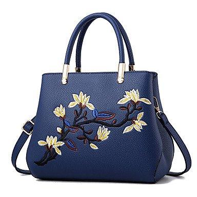 Frauen Handtasche Mode Leder Schulter Messenger Crossbody Taschen / Handtaschen Tote LightBlue