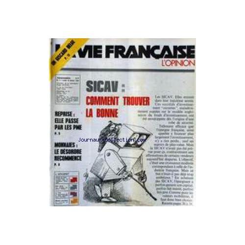 VIE FRANCAISE (LA) [No 7] du 16/02/1976 - UN GISCARD BELGE - SICAV - COMMET TROUVER LA BONNE - REPRISE ET PME - MONNAIES - LE DESORDRE RECOMMENCE.