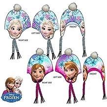 Disney Bambine e ragazze Frozen Cappello invernale peruviano 52-54 cm d3fe6f05cb48