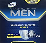 Tena For Men Odour Control Incontinence Pads - Level 2-10 Pads