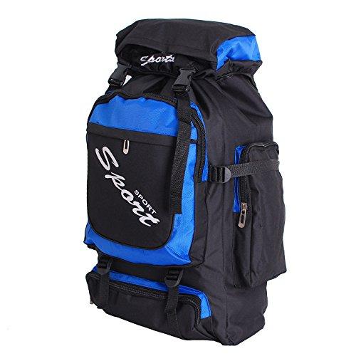 Männer und Frauen Freizeit Reise Gepäck Rucksack Trekking Outdoor Rucksack Reisetaschen blau
