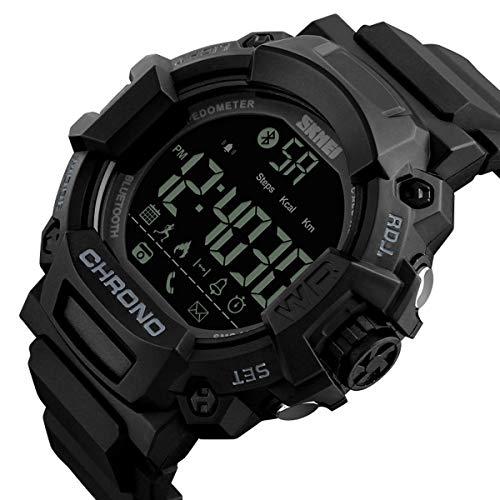 e9d378b34bb3 Reloj Deportivo podómetro Reloj Calorías Contador Digital Bluetooth Fitness  Relojes Militar Reloj.