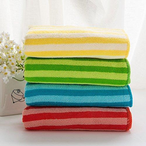 ERRU- Asciugamano di cotone / poliestere fibra Washcloth / morbido assorbente asciugamano / Coppia di (Tovagliolo Di Mano Washcloth)