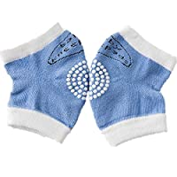 1 Pairs Baby Knee Pads Infant Toddlers Baby Kneepads for Crawling Anti-Slip Breathable Infants Knee Pads