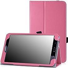MoKo Samsung Galaxy Tab 4 7.0 / Tab 4 Nook 7 2014 Funda - Slim-Fit Multi-Angle Folio Funda para Samsung GALAXY Tab 4 7.0 Pulgadas Tableta, ROSA (NO va a caber el Tab 3 7.0)