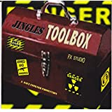 THE JINGLES TOOLBOX CD,PROFESSIONAL AUDIO FOR DJ / RADIO /STUDIO,SWEEPERS AND SOUND EFFECTS
