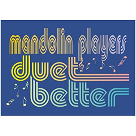Teeburon Mandolin duet better Sticker Pacchetto di