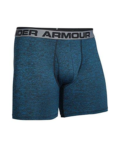 Under Armour–Pantaloni sportivi pantaloni sportivi pantaloni originale 15,2cm boxer Jock Twist, pantaloncini sportivi, Unterhose originale 6pollici Boxerjock Twist Brilliant Blue/ Black