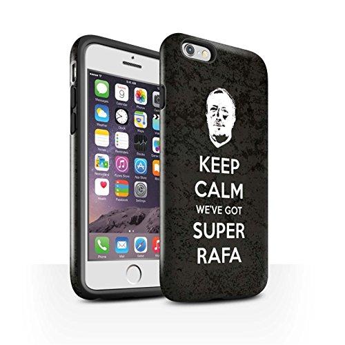 Officiel Newcastle United FC Coque / Brillant Robuste Antichoc Etui pour Apple iPhone 6 / Pack 8pcs Design / NUFC Rafa Benítez Collection Rester Calme