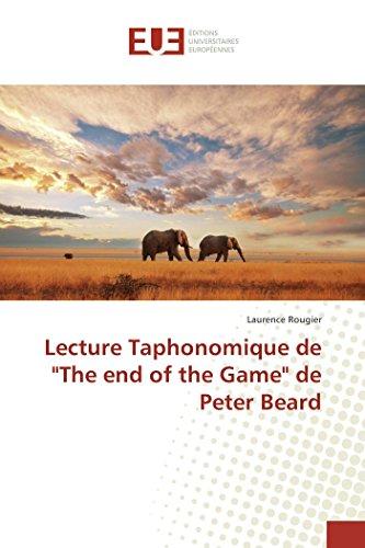 Lecture Taphonomique de