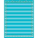 """Teacher Created Resources Hanging 10 - Pocket Chart - 34""""X44"""" Light Blue Marquee"""