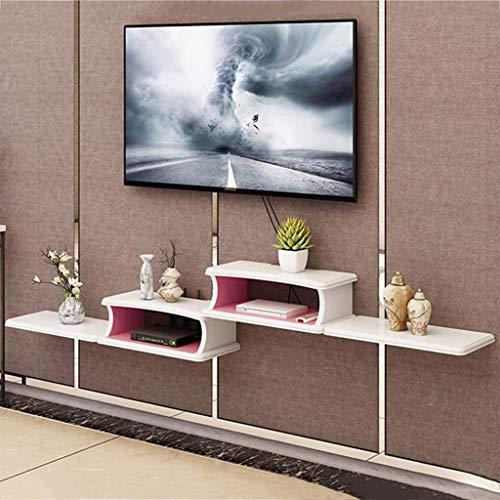 Dvd-regale Steht (MTX Ltd Tv Steht Holz Hängende Wandregal Schwimmende Wand Wand Tv Wand Hintergrund Wanddekoration Tv Konsole DVD Projektor Lagerung Regal Innen Haushalt Langlebig, 3#)