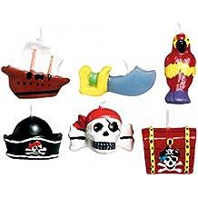 Candele a tema pirati Taglia